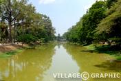 Photos Angkor - La Stung Siem Reap (rivière)