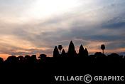 Photos Angkor - Levé de soleil sur Angkor Vat (ou Angkor Wat)