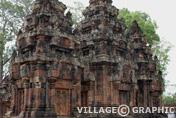 Photos Angkor - Banteay Srei joyau de l'art Angkorien