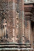 Photos Angkor - Banteay Srei (la citadelle des femmes)