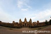 Photos Angkor - Porte de l'éléphant d'Angkor Wat