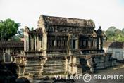 Photos Angkor - Bibliothèque Sud d'Angkor Wat