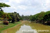 Photos Angkor - Rivière Stung Siem Reap