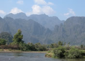 Photos Laos - Vang Vieng - La Nam Song ou la Nam Ngum