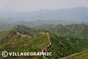Photos Pékin/Beijing - Vue de la grande muraille