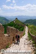 Photos Pékin/Beijing - La grande muraille de chine a Jinshanlin et Simatai