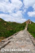 Photos Pékin/Beijing - Un des tronçons de la grande muraille à Jinshanlin