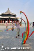 Photos Pékin/Beijing - Pavillon spacieux au Palais d'Eté de Pekin