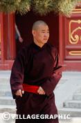 Photos Pékin/Beijing - Moine dans le temple des Lamas