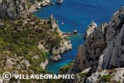Photos Provence - La calanque de Sugiton