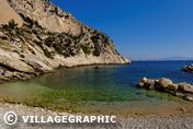 Photos Provence - La calanque de la Vesse