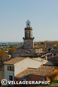 Photos Provence - Vue du village d'Eyguières