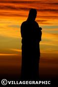 Photos Provence - Coucher de soleil à Notre-Dame-de-la-Garde