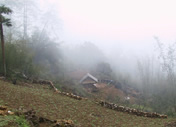 Photos Vietnam - Sapa - Village sous la brume