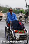 Photos Vietnam - Cyclo-pousse à Hué