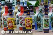Photos Vietnam - Vases en porcelaine à Hué