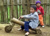 Photos Vietnam - Jouet en bambous