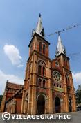Photos Vietnam - La cathédrale Notre-Dame à HCMV