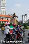 Photos Vietnam - Rues de Ho Chi Minh Ville au Vietnam