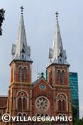 Photos Vietnam - Cathédrale Notre-Dame à Saigon