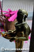 Photos Vietnam - Statuette dans un temple hindou