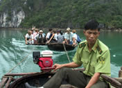 Photos Vietnam - Cat Ba - On coule !!!