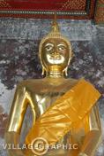 Photos Thailande - Bouddha au Temple de marbre à Bangkok