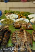 Photos Thailande - Le poisson grillé, un délice!