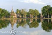 Photos Thailande - Vestiges de la première capitale du Siam