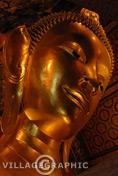 Photos Thailande - Bouddha couché du Wat Pho à Bangkok