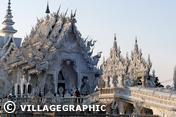 Photos Thailande - Le temple blanc de Chiang Rai