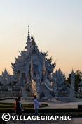 Photos Thailande - Le Wat Rong Khun à Chiang Rai