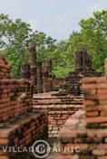 Photos Thailande - Edifices de Sukhothai en Thaïlande