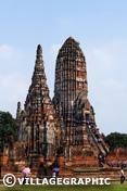 Photos Thailande - Wat Chai Wattanaram ou Wat Chaiwatthanaram