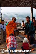 Photos Thailande - Aumônes du matin à Sangkhlaburi