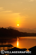 Photos Thailande - Sangkhlaburi - Levé du soleil