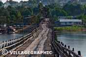 Photos Thailande - Le pont Wang Kha