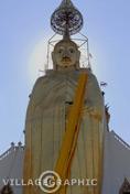 Photos Thailande - Le Wat Indharavihan ou Wat Intharawihan à Bangkok