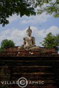 Photos Thailande - Wat Mae Chon du Parc historique de Sukhothai