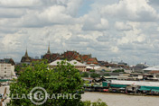 Photos Thailande - Le Grand Palais à Bangkok vu du Wat Arun