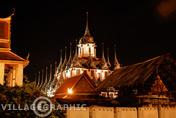 Photos Thailande - Wat Ratchanatda ou Wat Ratchanatdaram ou Wat Rajanadda ou Wat Rachanadda à Bangkok