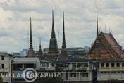Photos Thailande - Le Wat Arun vue du fleuve
